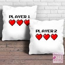 Komplet 2 poduszek PLAYER 1...