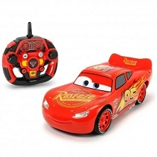 """Cars 3 Zygzak McQueen Ultimate RC Wyścigówka Dickie Auta 3   Bohaterowie bajki """"Auta"""" wracają na tor! Tym razem stawiają czoła autom nowej generacji. Zdalnie sterowany..."""
