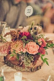 dekoracja nr stołów