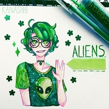 art trade z @emna.alien na ...