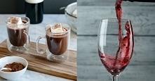 Wino z czekoladą