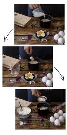Jak zrobić ciasto parzone na ptysie, eklerki i karpatkę