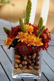 Jesienny bukiet, chryzantem...