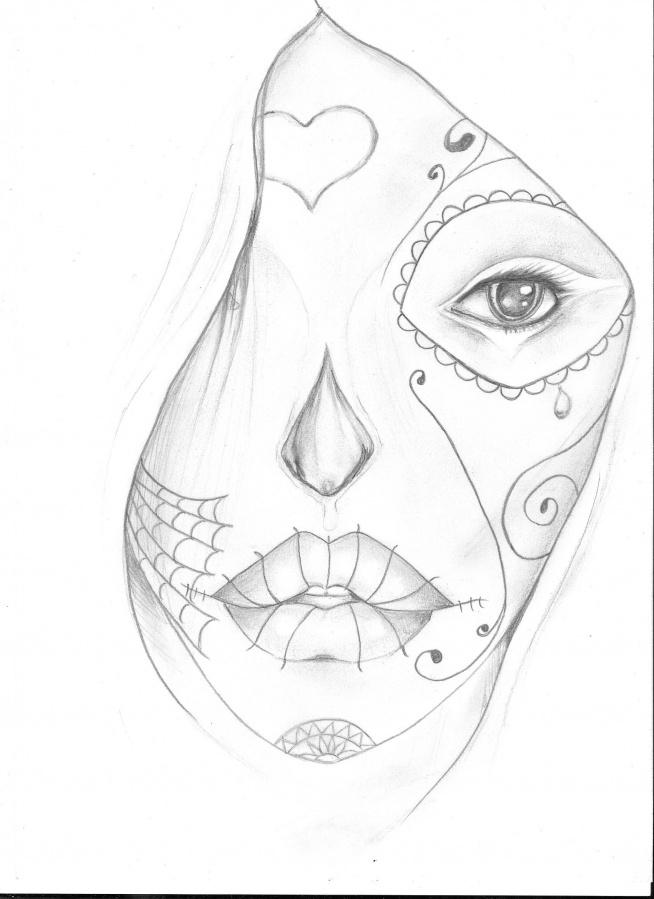 rysunek o u0142 u00f3wkiem w stylu faceart na moje rysunki