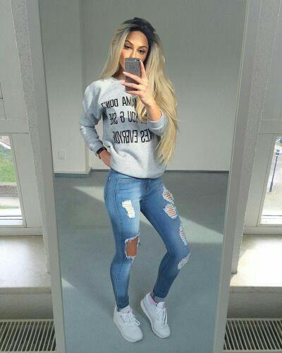 bluza,jeans adidas ...