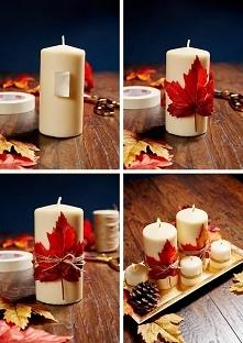 Wieczór będzie przytulniejszy, gdy oświetlimy go świeczkami :) nadadzą klimat...