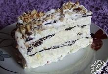 """Lody Viennetta  """"Po upieczeniu ciasta zostały mi do wykorzystania białka..."""