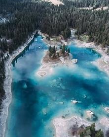 Jezioro Caumasee w Szwajcarii.