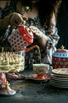czas na herbatke :D