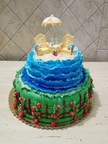 Tort na 50 urodziny