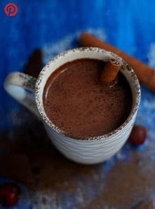 Gorąca czekolada z czerwony...