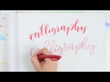How to do Faux Calligraphy ...
