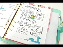 bullet journaling: doodles ...