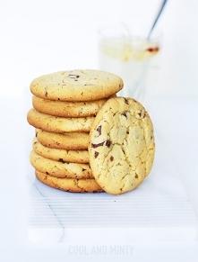 orzechowe chip cookies