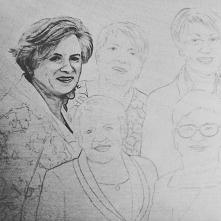 Portret zbiorowy cz.1 #portret #prezent #portrait #wood #rekodzielo #atwork #inprocess #inprogress #polishart #polishartist #burn