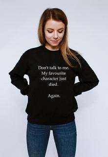 śmieszna bluza z nadrukiem ...