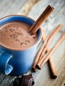 Kakao z cynamonem i czekoladą ☕