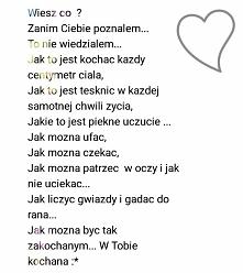 Zakochanie. ;*!