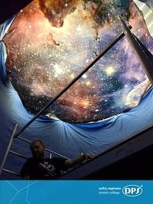 Prawdziwa galaktyka na suficie! To nasza realizacja z Centrum Handlowego Arka...