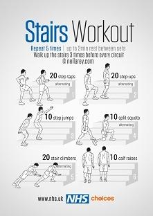 ćwiczenia ze schodami
