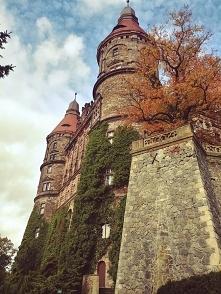 Zamek Książ - w jesienne wieczory uwielbiam planować co zrobię w jesienny wee...