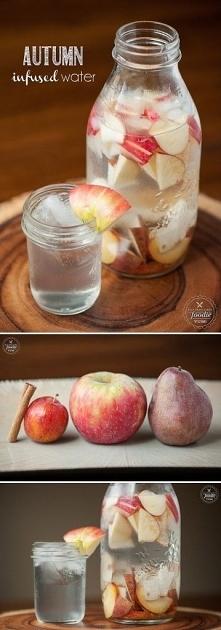 woda, jabłko, gruszka, śliw...