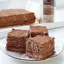 Kakaowe ciasto bez pieczeni...