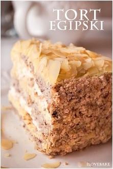 Tort egipski, przepis po kliknięciu w zdjęcie.