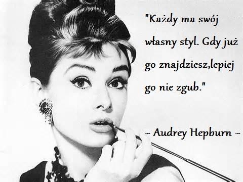 Audrey Hepburn Na Cytaty Zszywka Pl