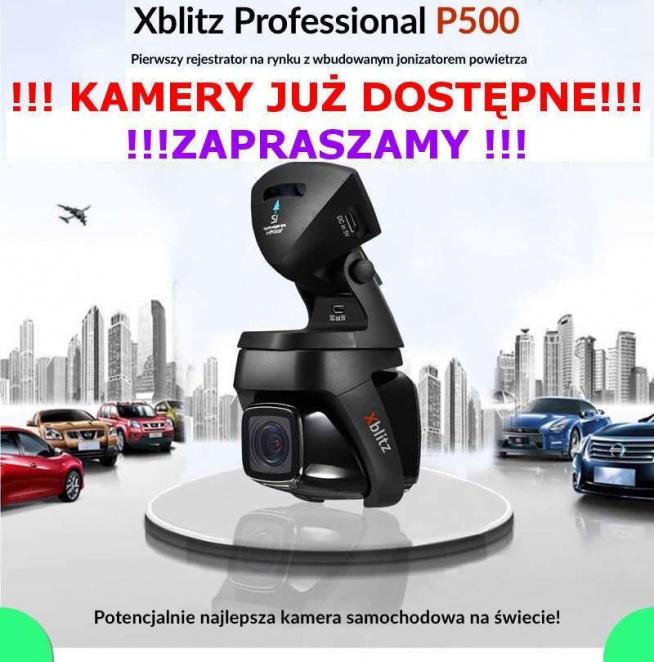 Wideorejestratory Xblitz P500 będą rejestrować cały Twój przejazd samochodem. Dzięki temu unikniesz nieprzyjemności związanych z ustaleniem sprawcy ewentualnej kolizji - w końcu nie ma lepszego dowodu niż nagranie!
