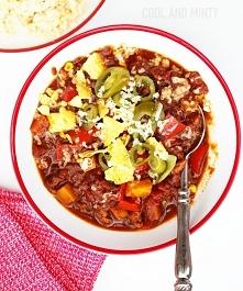 chili con carne z indykiem ...