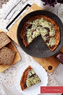 Omlet paprykowo-serowy!