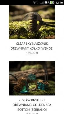 Jejku, te naszyjniki są śliczne ❤❤ Tylko drogie, bo najtańsze po prawie 150 z...