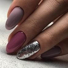 Przepiękne kolory jak i kształt paznokci ♥