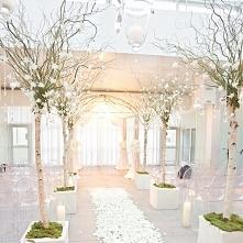 Białe sale weselne :) fot. Perez Wedding