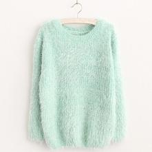 Milutki w dotyku sweter w p...