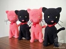 Szydełkowe koty Facebook: @domatorka.m