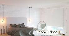 Proste minimalistyczne lampki Edison