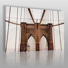 Most Brookliński - zdjęcie na płótnie