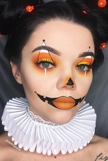Halloweenowy Makeup ;)