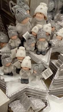 Zimowe figurki dzieci ;)