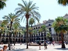 Barcelona plac Plaça Reial 2016