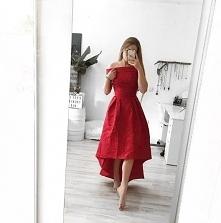 Piękna czerwona sukienka Ch...