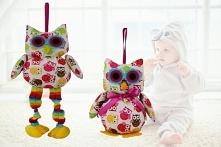 Maskotki SÓWKI dla dziecka.