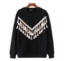 Klasyczny, czarny pullover ...