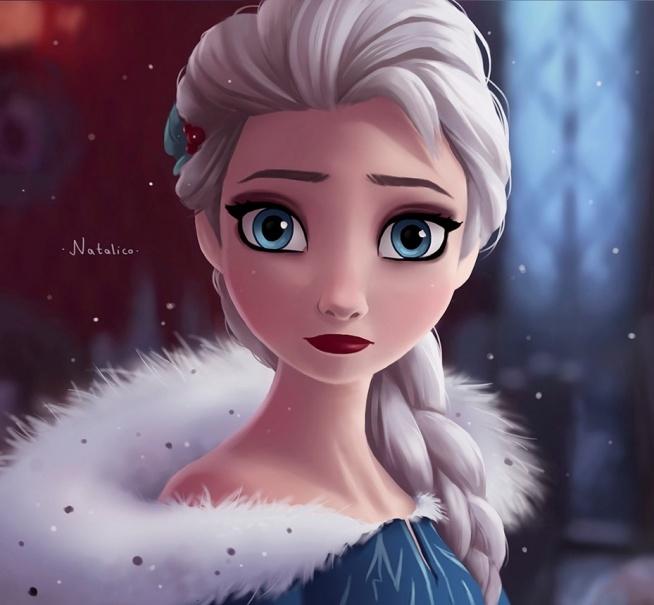Elsa w zimowej kreacji z najnowszej odsłony
