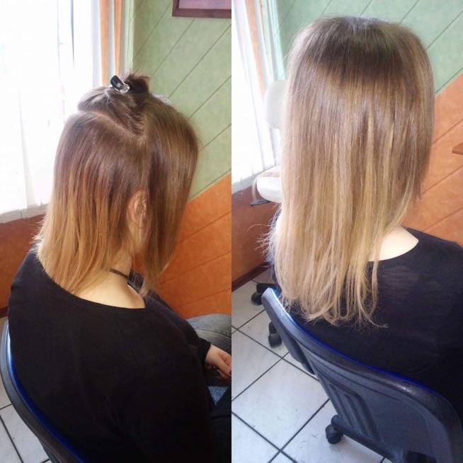 Inne rodzaje przed i po. przedłużanie i zagęszczanie włosów na Włosy - Zszywka.pl YF21
