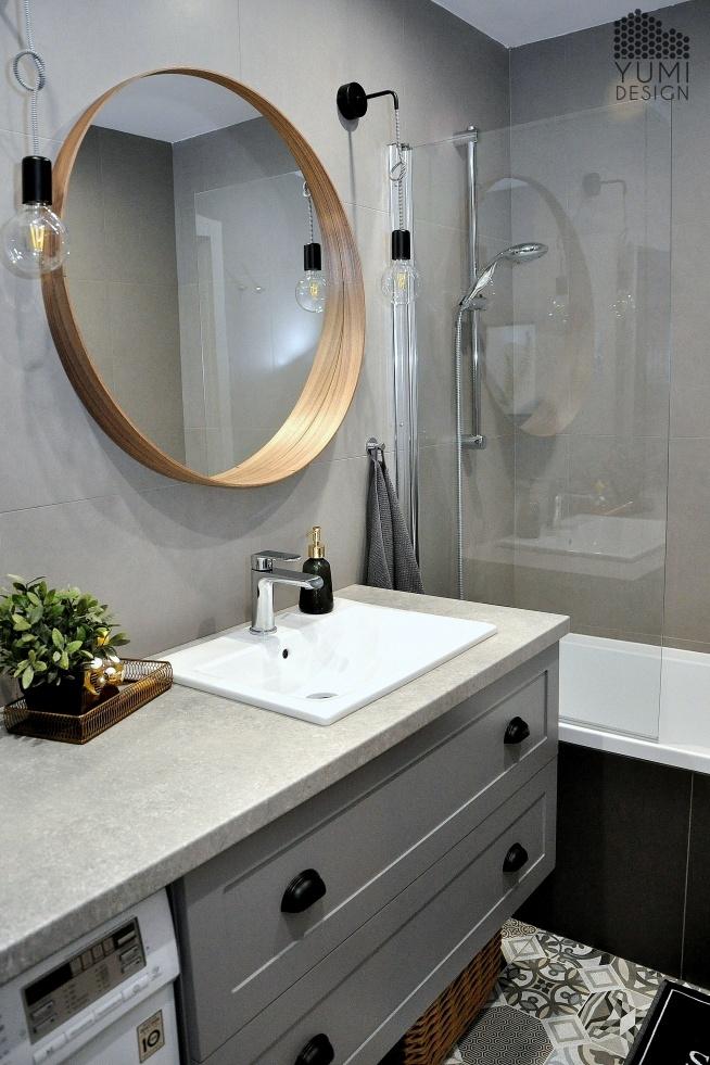 Projekt łazienki by Yumi Design