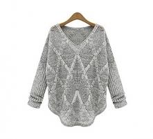 Ażurowy sweterek w odcienia...