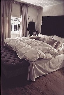 duże łóżko cos pięknego